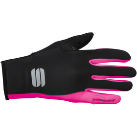 Sportful Essential 2 Guanti Donna, black/bubble gum